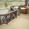 Elevated Deck with Custom Benches