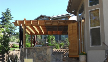 Trellis Patio Cover