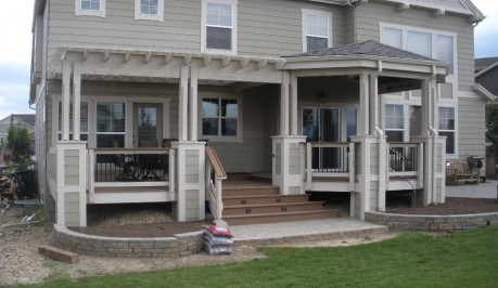 Custom Deck / Patio Cover / trellis