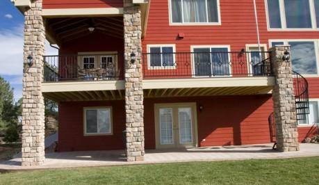 Custom Deck Balcony & Staircase
